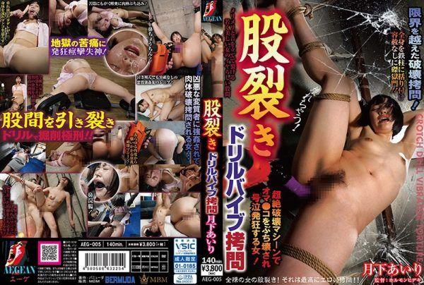 AEG-005 Crotch Tear Drill Vibe Torture Airi Tsukishita
