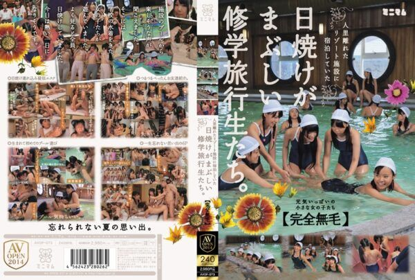 """[AVOP-073] S*****ts On A School Trip With Radiant Tans Who Were Staying In A Remote Resort Facility. """"Fully Shaved"""""""